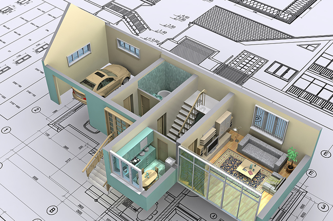 From Planning to Construction including Interior & Exterior Design